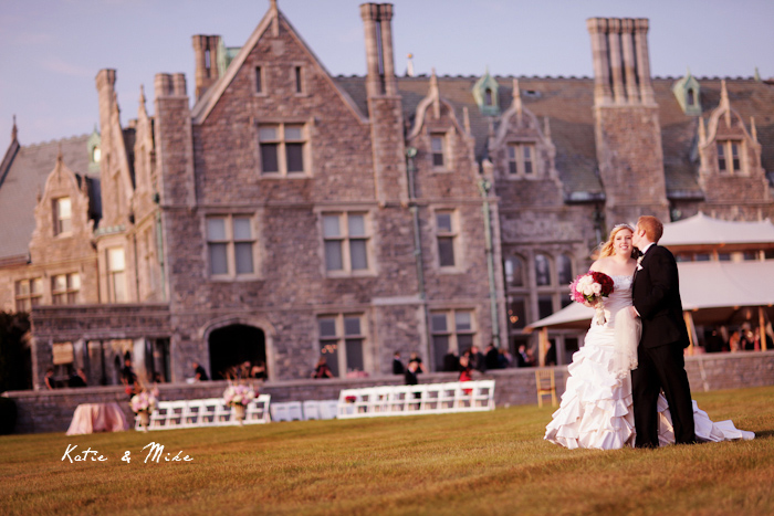Katie Mike Branford House Mansion Wedding