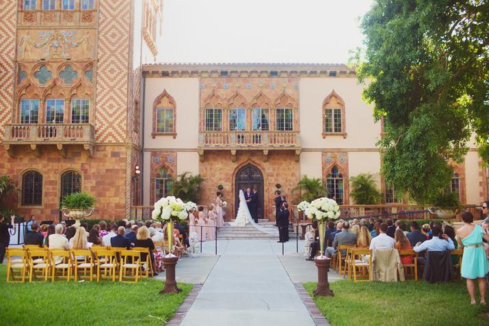 Kate Shawn Ringling Museum Wedding Sarasota