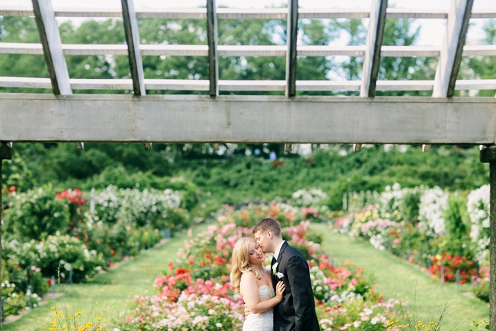 Brea Zach Brooklyn Botanical Garden Wedding