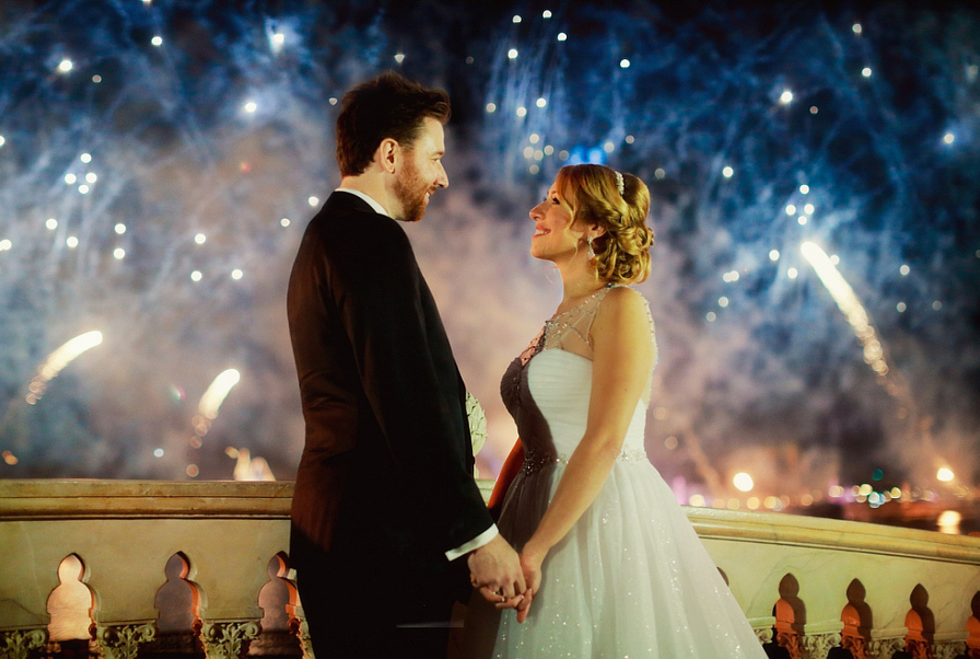 Disney Fairy Tale Wedding by Binaryflips Photography
