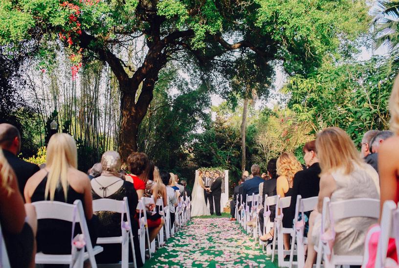 Sunken Gardens Wedding.Jessica Rich Sunken Garden Wedding In St Petersburg