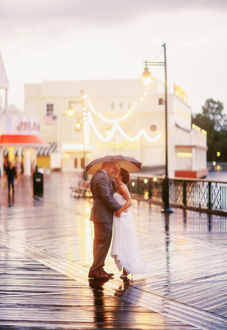Disney Boardwalk wedding
