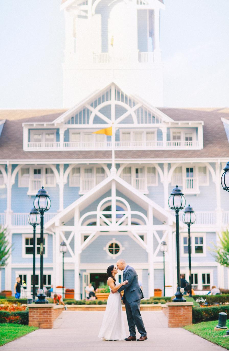 Disney Boardwalk wedding