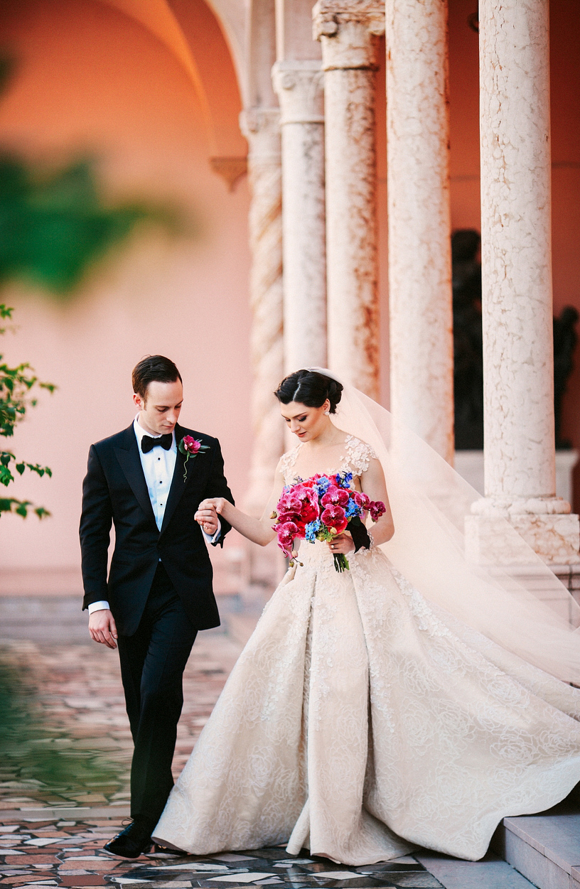 Emily David Wedding At Ringling Museum In Sarasota Fl