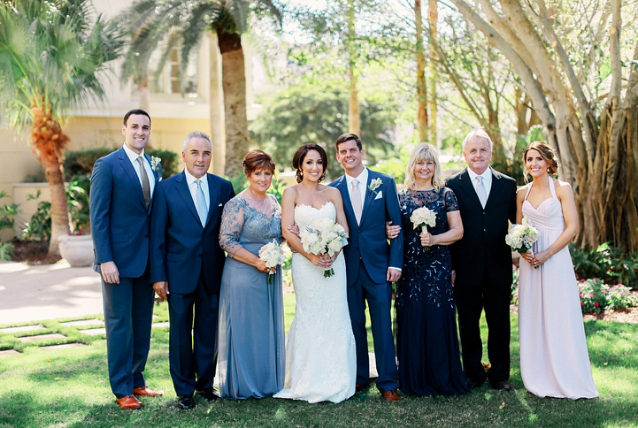 Ritz Carlton Members Beach Club Wedding