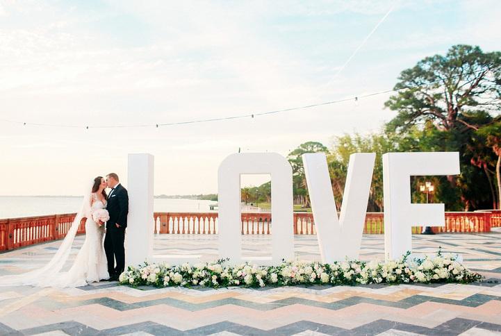 Ringling Museum wedding photos